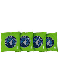 Minnesota Timberwolves All-Weather Cornhole Bags Tailgate Game