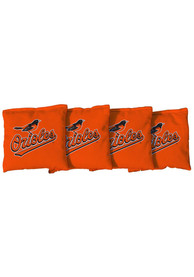 Baltimore Orioles All-Weather Cornhole Bags Tailgate Game