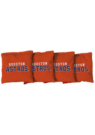 Houston Astros All-Weather Cornhole Bags Tailgate Game