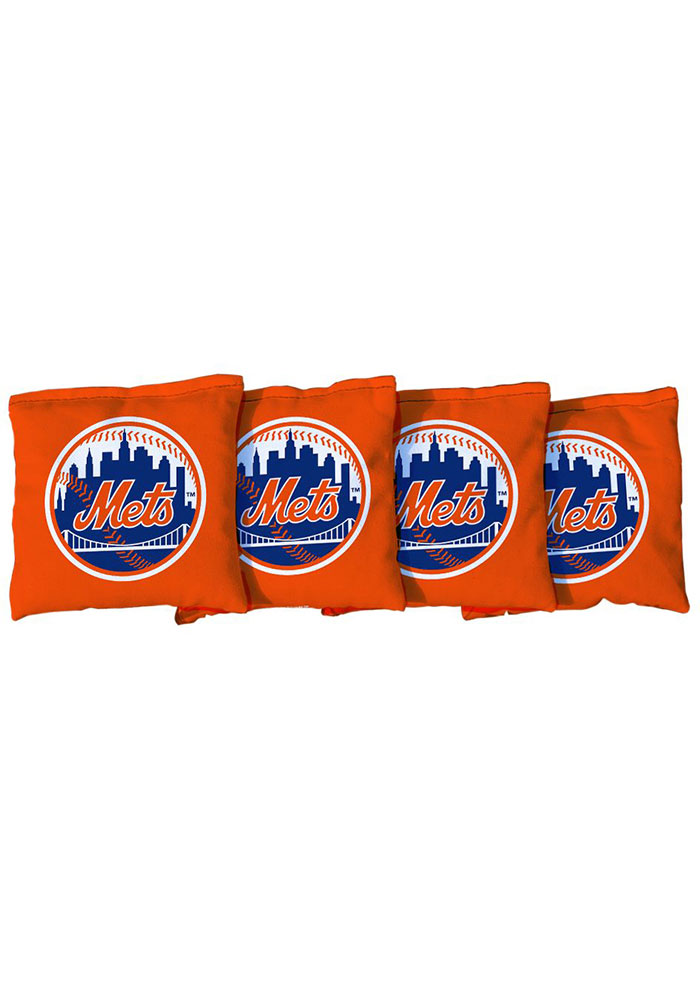 New York Mets All-Weather Cornhole Bags Tailgate Game - Image 1