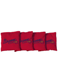 Atlanta Braves All-Weather Cornhole Bags Tailgate Game