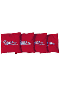 Philadelphia Phillies All-Weather Cornhole Bags Tailgate Game