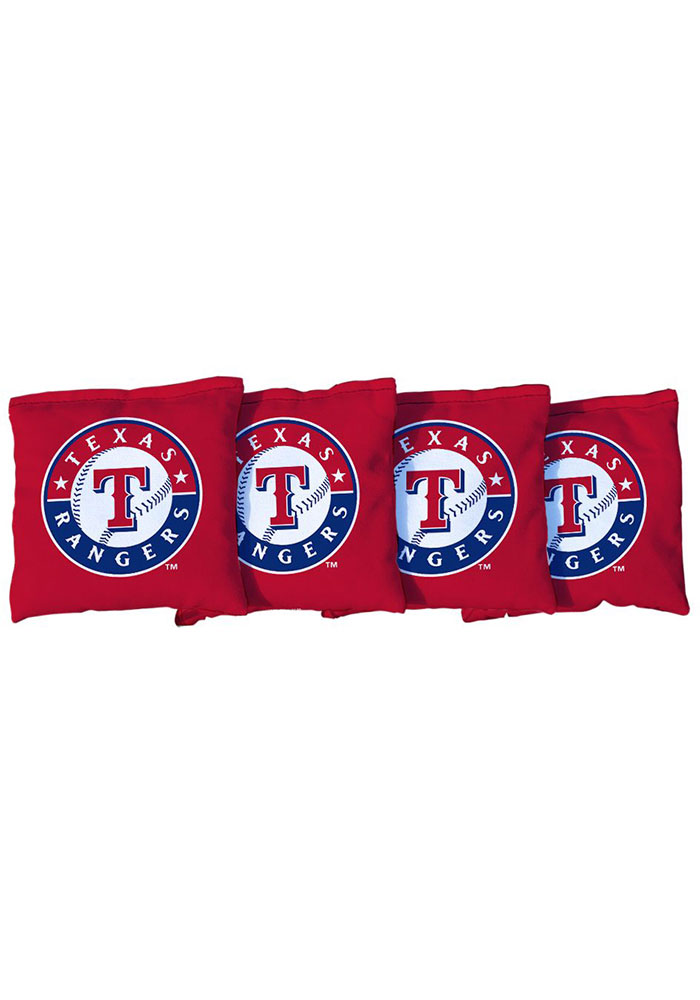 Texas Rangers All-Weather Cornhole Bags Tailgate Game - Image 1