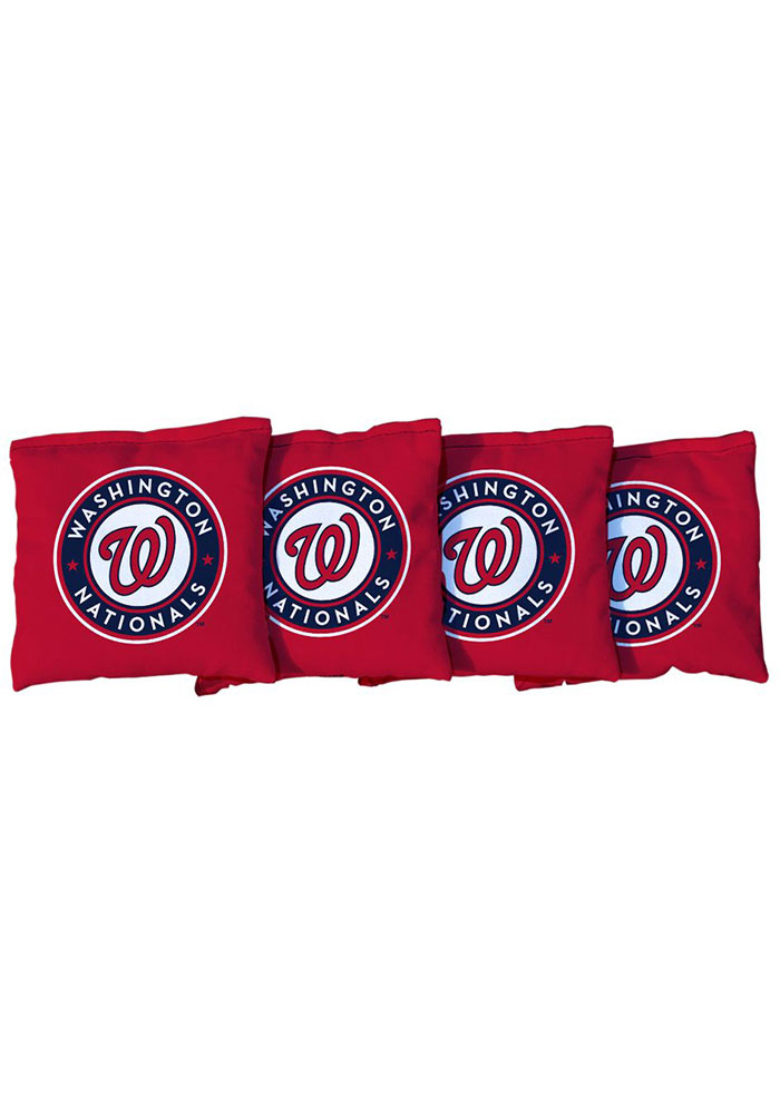 Washington Nationals All-Weather Cornhole Bags Tailgate Game - Image 1