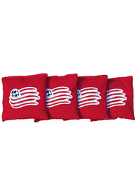 New England Revolution All-Weather Cornhole Bags Tailgate Game