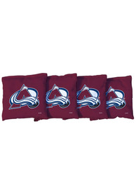 Colorado Avalanche All-Weather Cornhole Bags Tailgate Game
