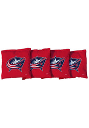 Columbus Blue Jackets All-Weather Cornhole Bags Tailgate Game