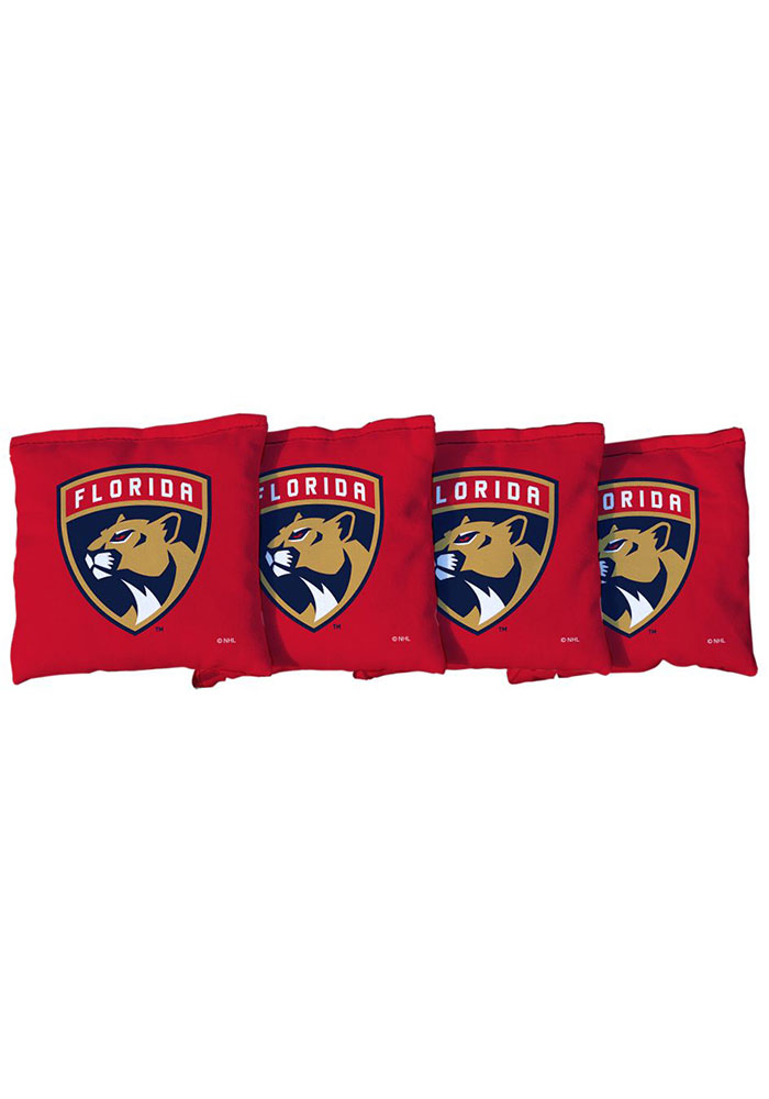 Florida Panthers All-Weather Cornhole Bags Tailgate Game - Image 1