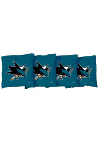 San Jose Sharks All-Weather Cornhole Bags Tailgate Game