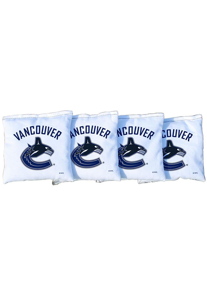 Vancouver Canucks All-Weather Cornhole Bags Tailgate Game - Image 1