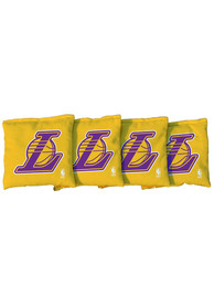 Los Angeles Lakers All-Weather Cornhole Bags Tailgate Game