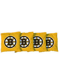 Boston Bruins All-Weather Cornhole Bags Tailgate Game