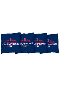 Boston Red Sox Corn Filled Cornhole Bags Tailgate Game