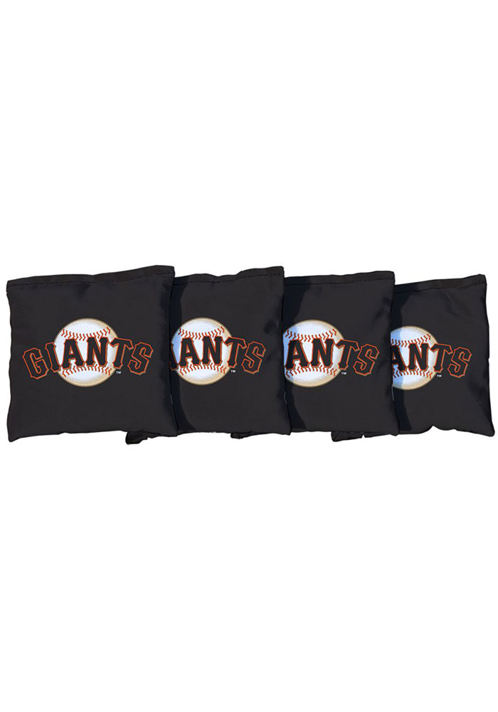 San Francisco Giants Corn Filled Cornhole Bags Tailgate Game - Image 1