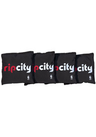 Portland Trail Blazers Corn Filled Cornhole Bags Tailgate Game