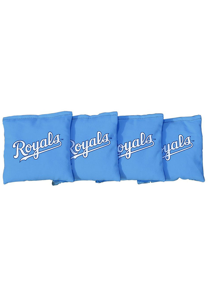 Kansas City Royals Corn Filled Cornhole Bags Tailgate Game - Image 1