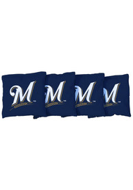 Milwaukee Brewers Corn Filled Cornhole Bags Tailgate Game