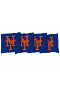 New York Mets Corn Filled Cornhole Bags Tailgate Game