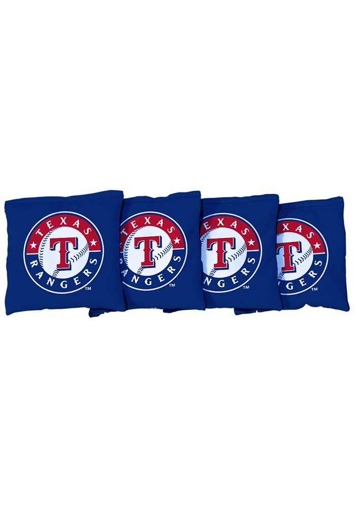 Texas Rangers Corn Filled Cornhole Bags Tailgate Game - Image 1