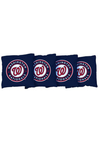 Washington Nationals Corn Filled Cornhole Bags Tailgate Game