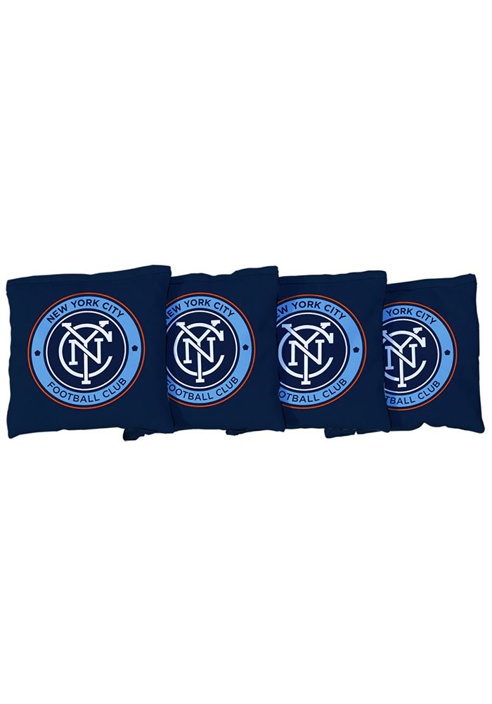 New York City FC Corn Filled Cornhole Bags Tailgate Game