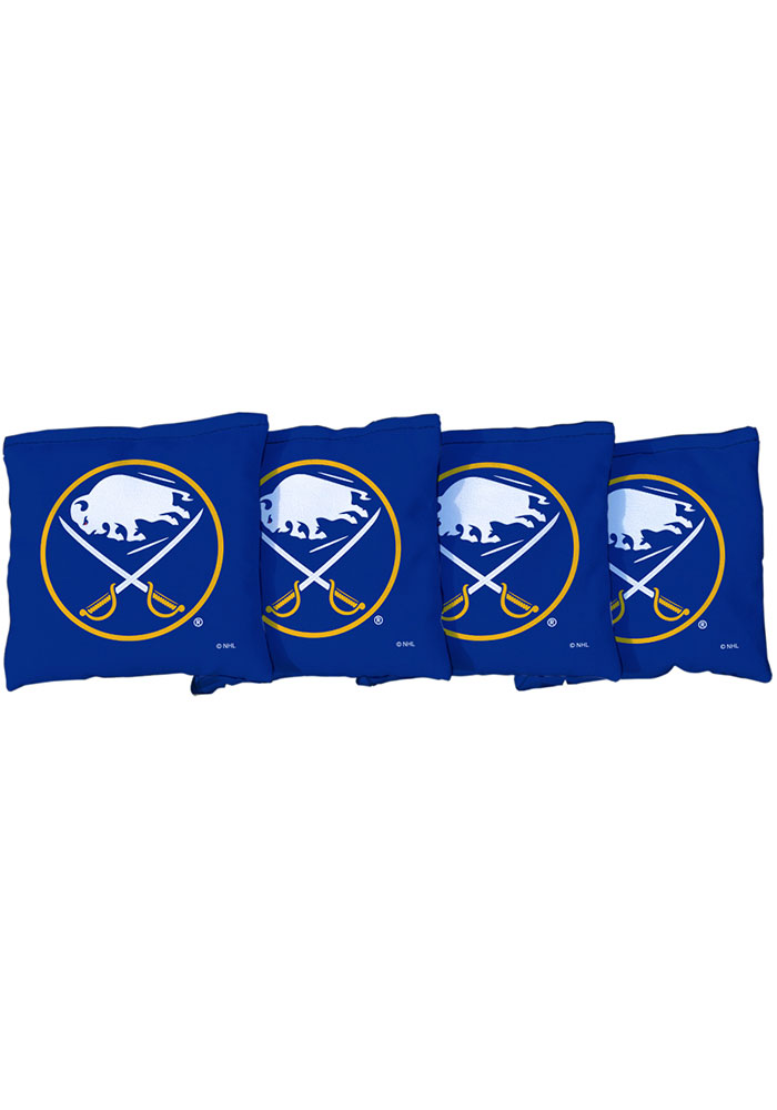 Buffalo Sabres Corn Filled Cornhole Bags Tailgate Game - Image 1