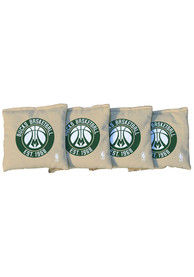 Milwaukee Bucks Corn Filled Cornhole Bags Tailgate Game