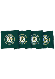 Oakland Athletics Corn Filled Cornhole Bags Tailgate Game