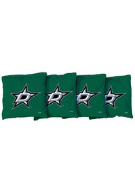 Dallas Stars Corn Filled Cornhole Bags Tailgate Game