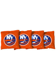 New York Islanders Corn Filled Cornhole Bags Tailgate Game