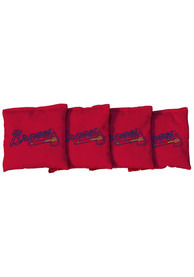 Atlanta Braves Corn Filled Cornhole Bags Tailgate Game