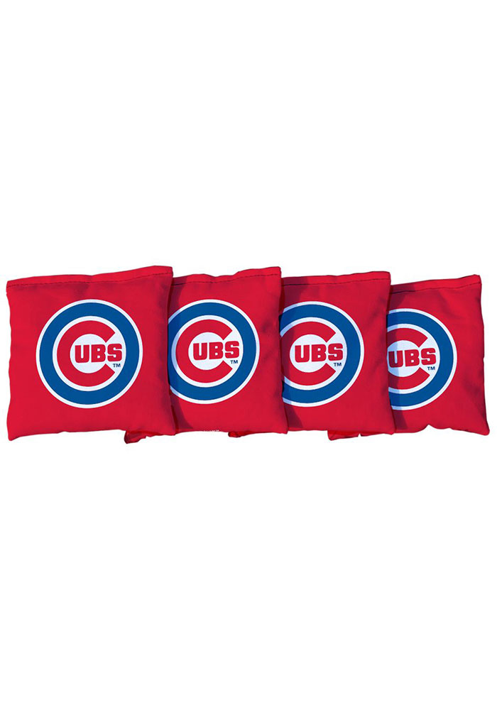 Chicago Cubs Corn Filled Cornhole Bags Tailgate Game - Image 1
