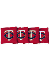 Minnesota Twins Corn Filled Cornhole Bags Tailgate Game
