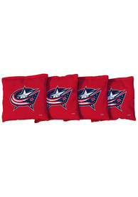 Columbus Blue Jackets Corn Filled Cornhole Bags Tailgate Game