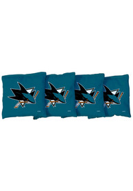 San Jose Sharks Corn Filled Cornhole Bags Tailgate Game