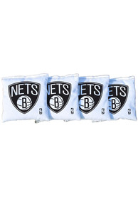 Brooklyn Nets Corn Filled Cornhole Bags Tailgate Game