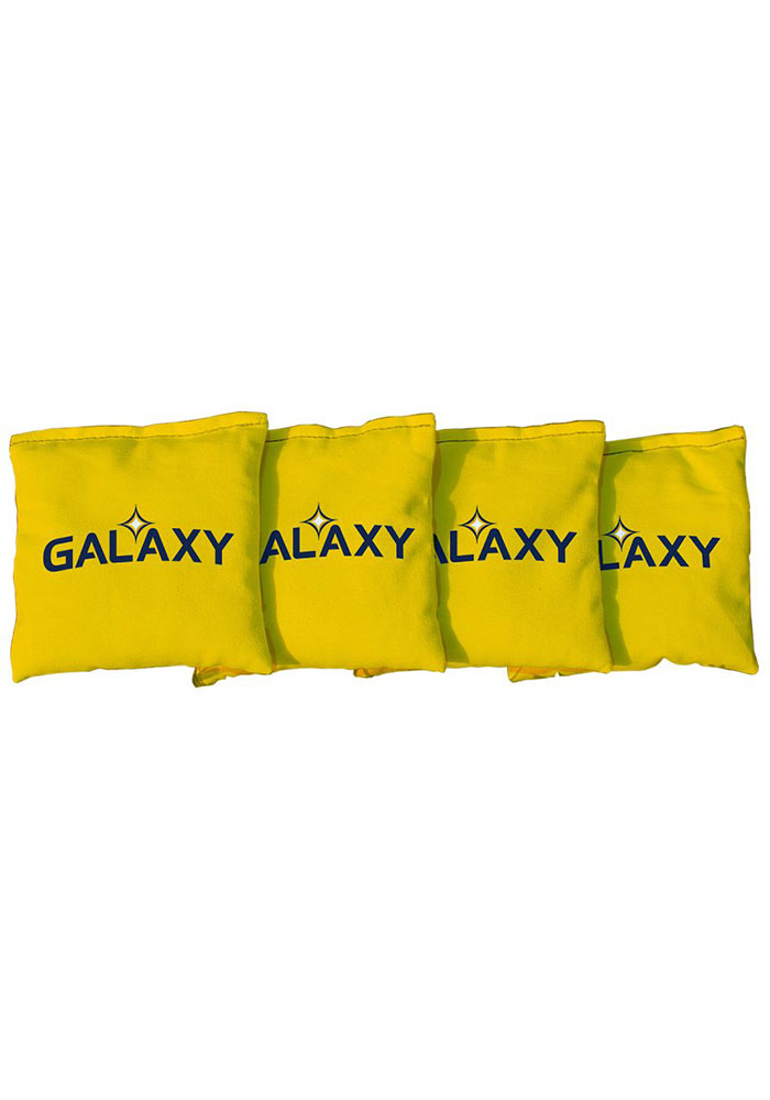 LA Galaxy Corn Filled Cornhole Bags Tailgate Game