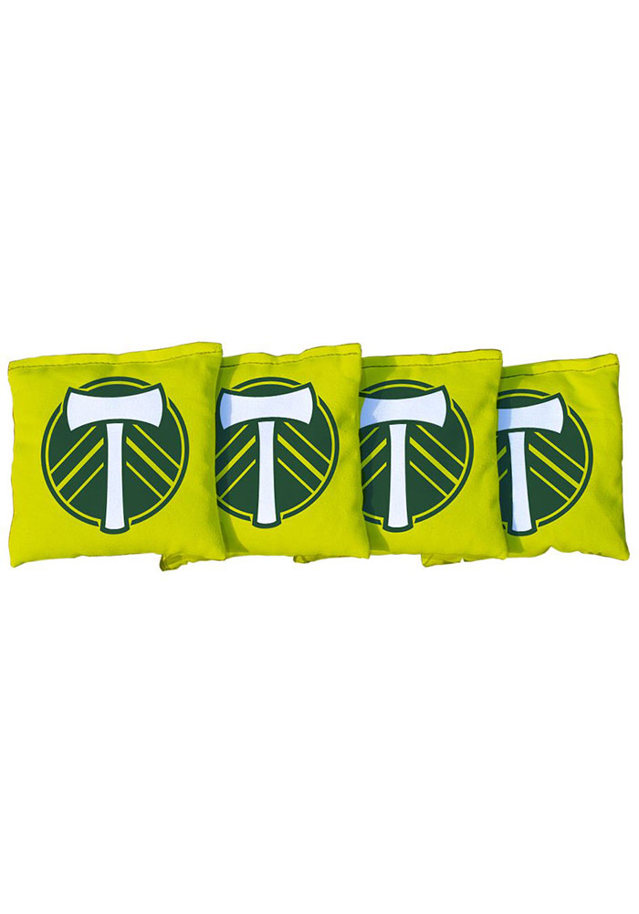 Portland Timbers Corn Filled Cornhole Bags Tailgate Game - Image 1