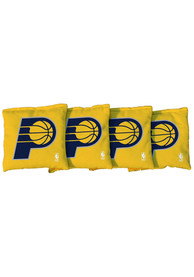 Indiana Pacers Corn Filled Cornhole Bags Tailgate Game