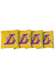 Los Angeles Lakers Corn Filled Cornhole Bags Tailgate Game