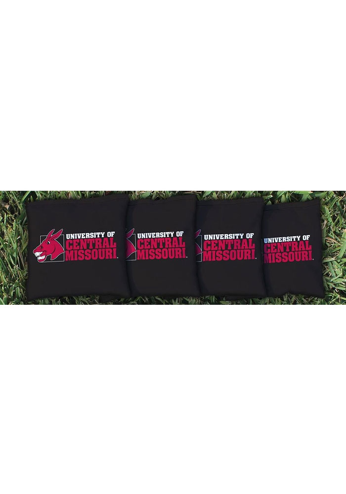 Central Missouri Mules All-Weather Cornhole Bags Tailgate Game - Image 1