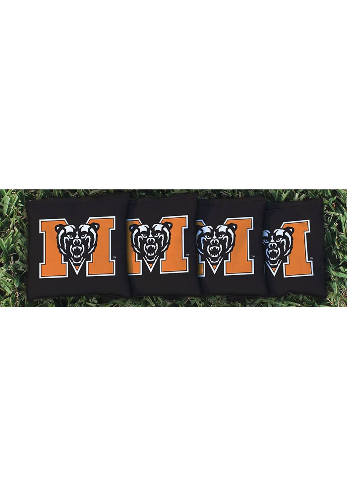 Mercer Bears All-Weather Cornhole Bags Tailgate Game - Image 1