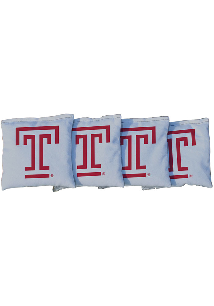 Temple Owls All-Weather Cornhole Bags Tailgate Game - Image 1