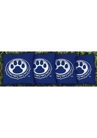 Drake Bulldogs All-Weather Cornhole Bags Tailgate Game