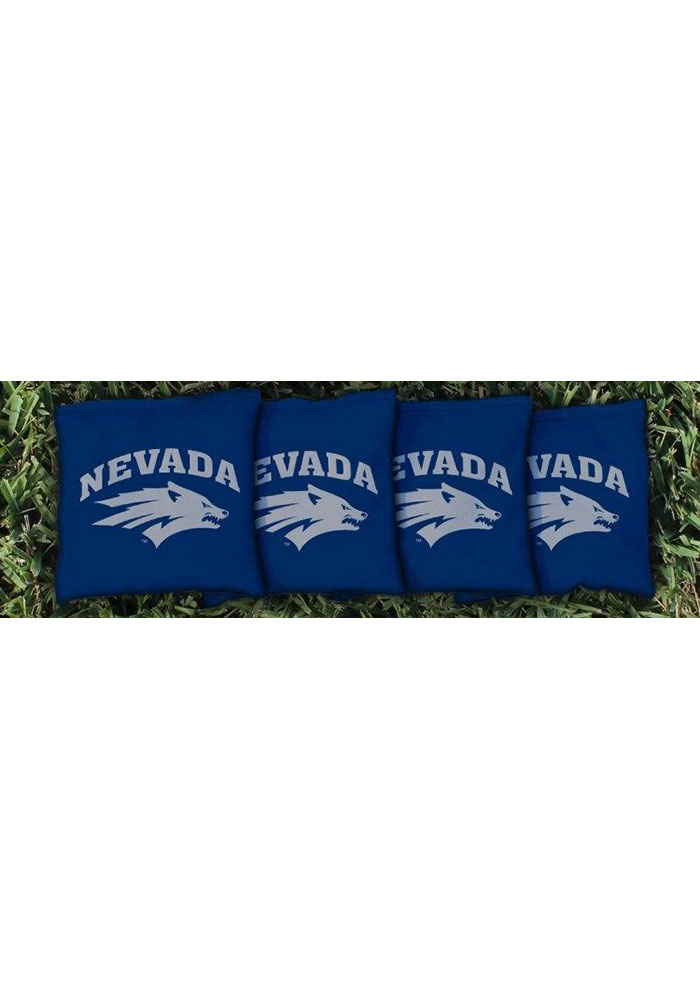 Nevada Wolf Pack All-Weather Cornhole Bags Tailgate Game - Image 1