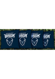 Howard Bison All-Weather Cornhole Bags Tailgate Game