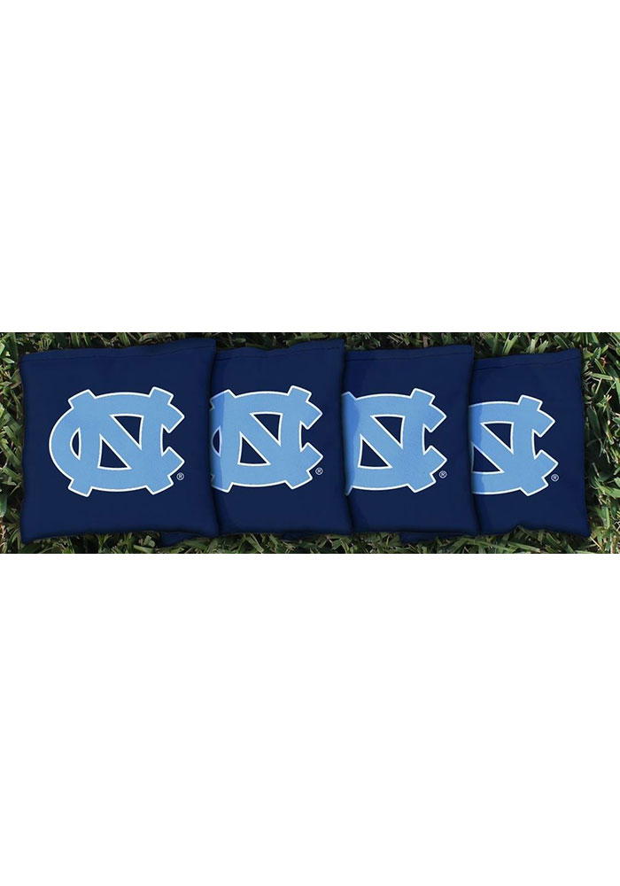 North Carolina Tar Heels All-Weather Cornhole Bags Tailgate Game - Image 1