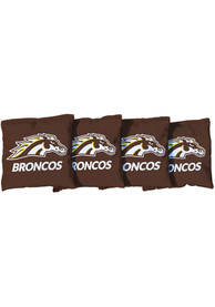 Western Michigan Broncos All-Weather Cornhole Bags Tailgate Game