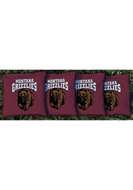 Montana Grizzlies All-Weather Cornhole Bags Tailgate Game