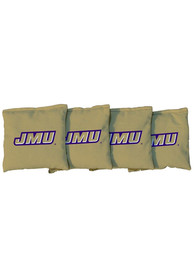 James Madison Dukes All-Weather Cornhole Bags Tailgate Game